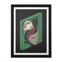 The Solipsist - black-vertical-framed-print - small view