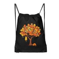 Cat Tree - drawstring-bag - small view
