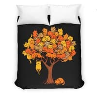 Cat Tree - duvet-cover - small view