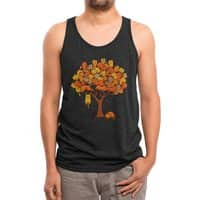 Cat Tree - mens-triblend-tank - small view