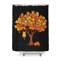 Cat Tree - shower-curtain - small view