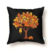 Cat Tree - throw-pillow - small view