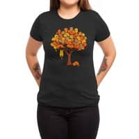Cat Tree - womens-triblend-tee - small view
