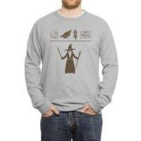Wizard Hieroglyph - crew-sweatshirt - small view