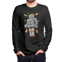 Wired to be Weird - mens-long-sleeve-tee - small view