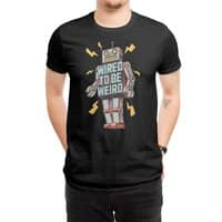 Wired to be Weird - mens-regular-tee - small view