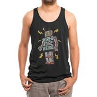 Wired to be Weird - mens-triblend-tank - small view