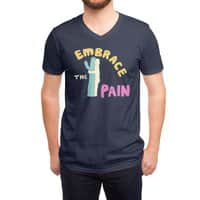 Embrace The Pain - vneck - small view