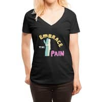 Embrace The Pain - womens-deep-v-neck - small view