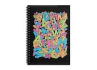 Now I Know My ABC's - spiral-notebook - small view