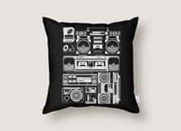 Radios - throw-pillow - small view