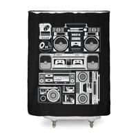 Radios - shower-curtain - small view