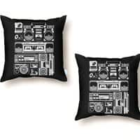 Radios - throw-pillow - small view