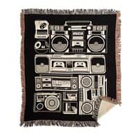 Radios - woven-blanket - small view